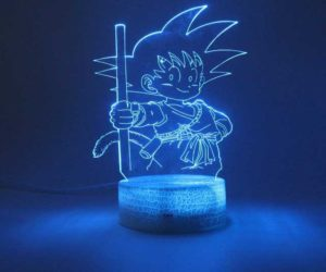 Dragon Ball 3d Lampe