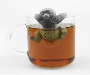 Faultier Teehalter