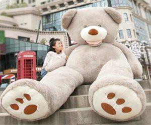 Gigantischer Teddybär
