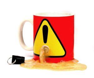 Stöpsel Kaffeetasse