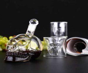Totenkopf Whiskeyglas Set