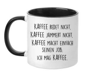 kaffee jammert nicht