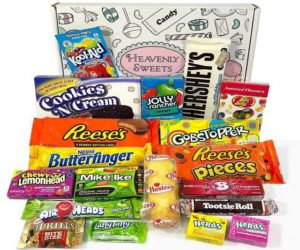 Amerikanische Süßigkeiten Geschenkbox