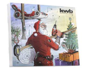 Werkzeug Adventskalender KWB