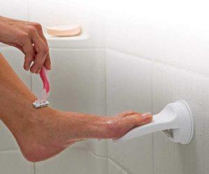 Fußstütze rasieren
