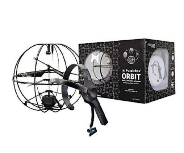 Puzzlebox Orbit Gedankenkraft Helikopter