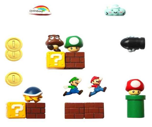 Super Mario Kühlschrank Magnete