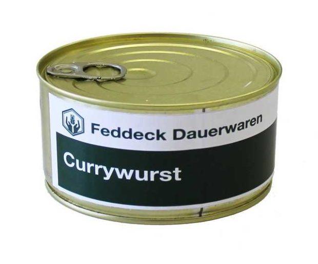 Currywurst in der Dose