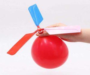 Luftballon Helikopter
