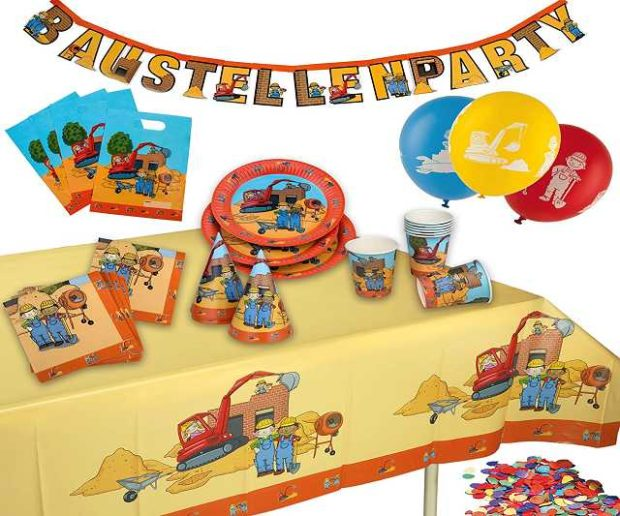 Partykoffer Baustelle
