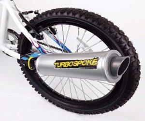 Turbospoke Auspuff mit Sound für Fahrrad