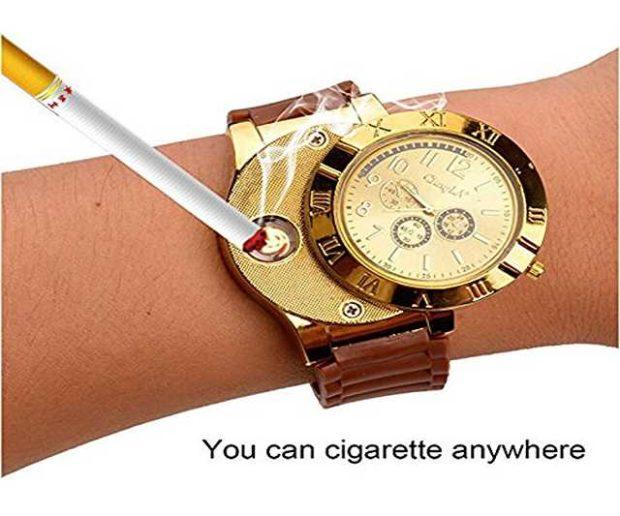 USB Feuerzeug Armbanduhr