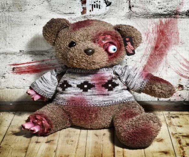 Zombie Horror Teddy