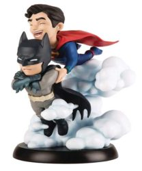 batman und superman figur