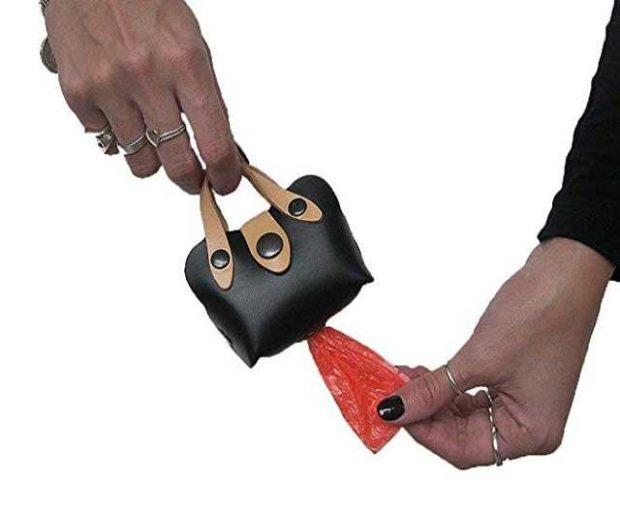 Mini Handtasche für Hundebeutel