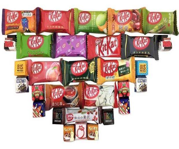 30 japanische Kitkat Tirol Süßigkeiten