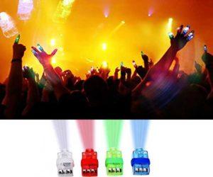 LED Finger Licht für Feste