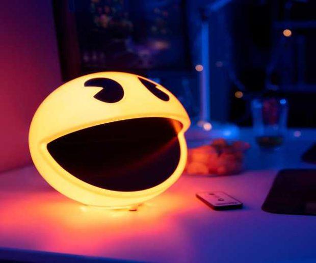 Pac Man Lampe