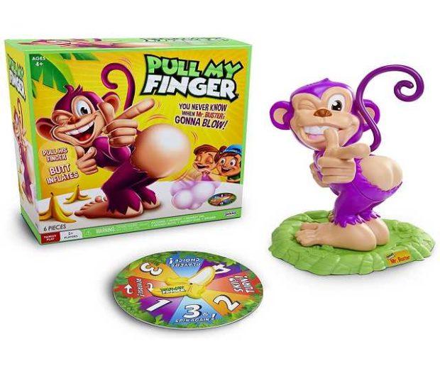 Pupsender Affe Spiel