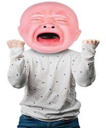 Riesige Babymaske