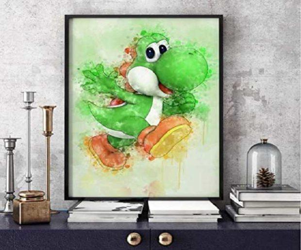 Super Mario Yoshi Bild