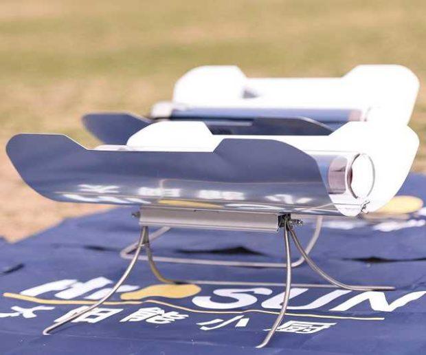 Tragbarer Solar Grill
