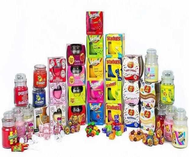 Süßigkeiten Duftkerzen